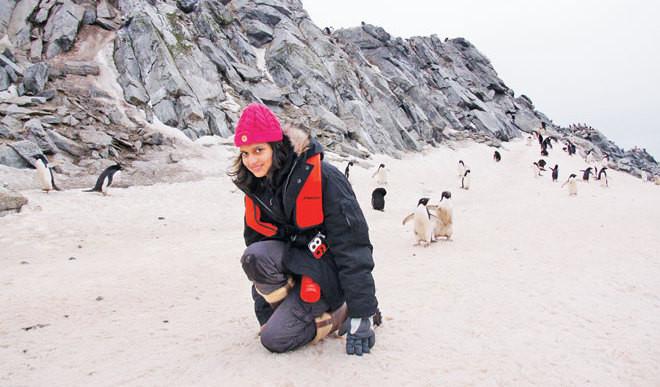 Teen Visits Arctic