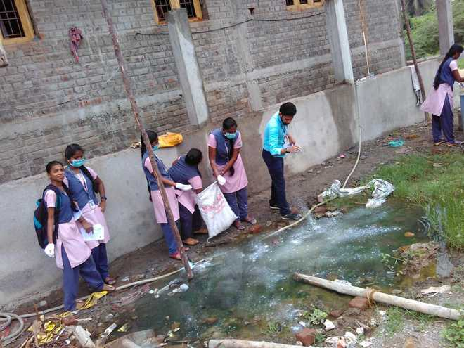 Dengue Awareness Campaign at Little Flower