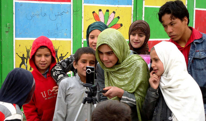 Aziza Crusader In Afghanistan