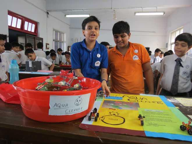 Birla High School hosts science exhibition