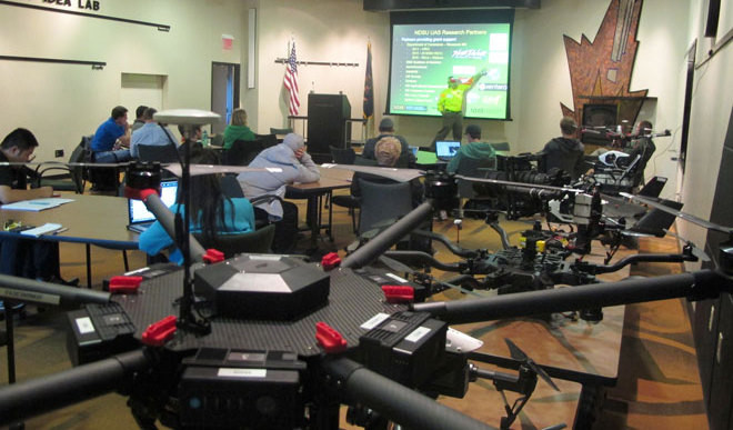 Students Learn How To Build Drones