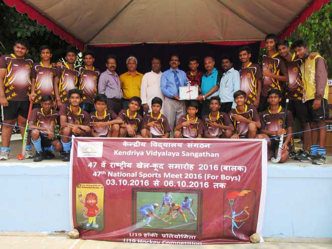 The Grand Finale of 47th KVS National Sports Meet - Hockey