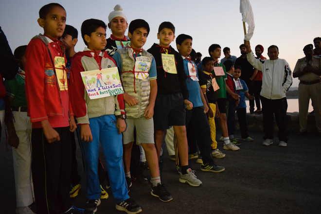 Johnians Run For Green Diwali