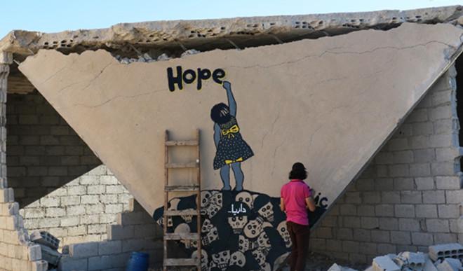 Syria's Street Art Offers Hope