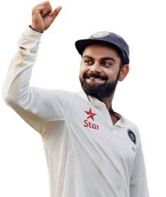 Kohli Is Now The First Indian Captain To Score Two Double Centuries In Tests
