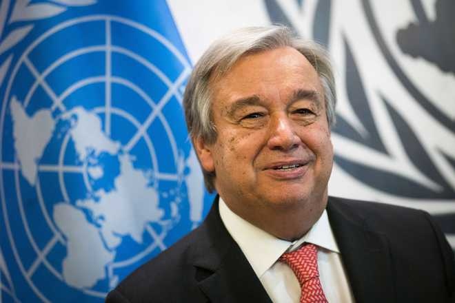 Newly Appointed UN Chief Says Peace Is His Top Priority
