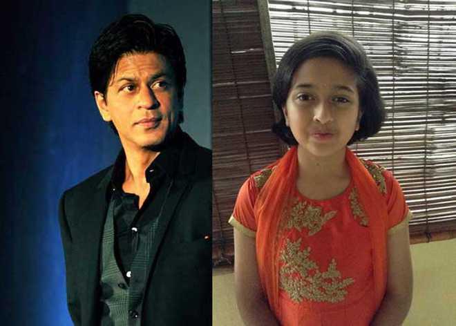 Ankitha On Her Icon - SRK