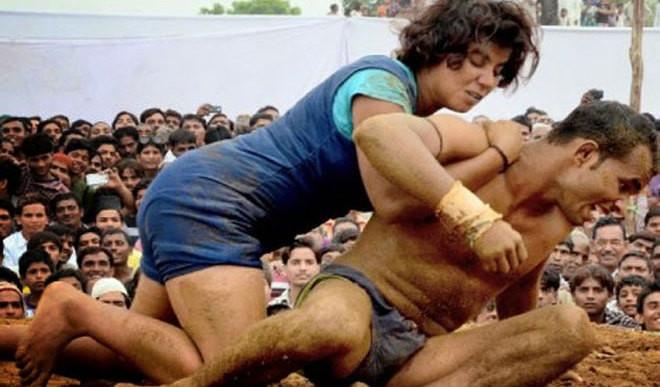 18-YO Girl Wrestler Beats Guys