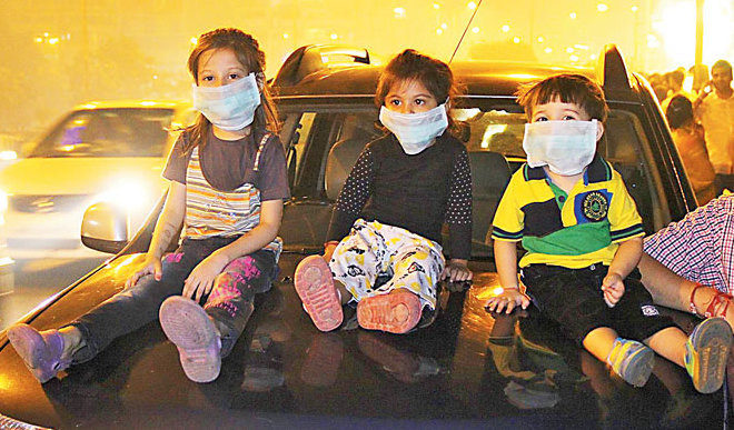 Toxic Air Proving Fatal For Kids
