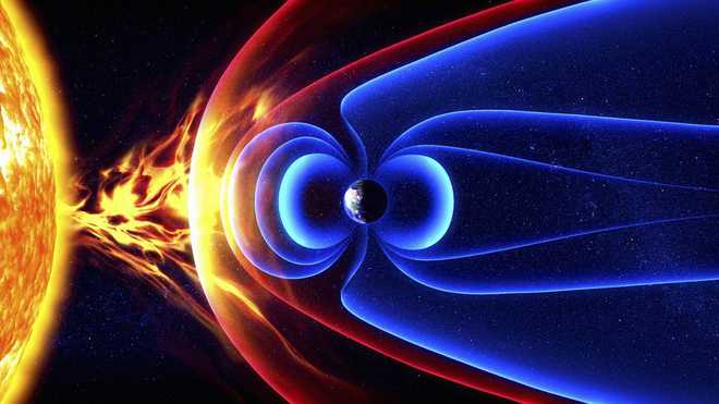 Earth's Magnetic Shield May Have A Crack