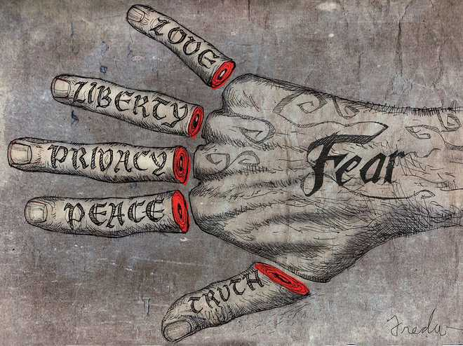 The Real Terrorist Is Fear