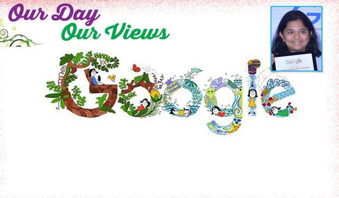 Anvita Prashant — The Google Doodle Girl