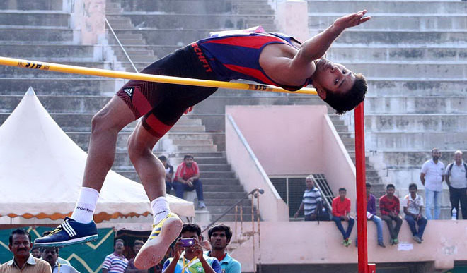 Tejaswin(17) Smashes High Jump Record