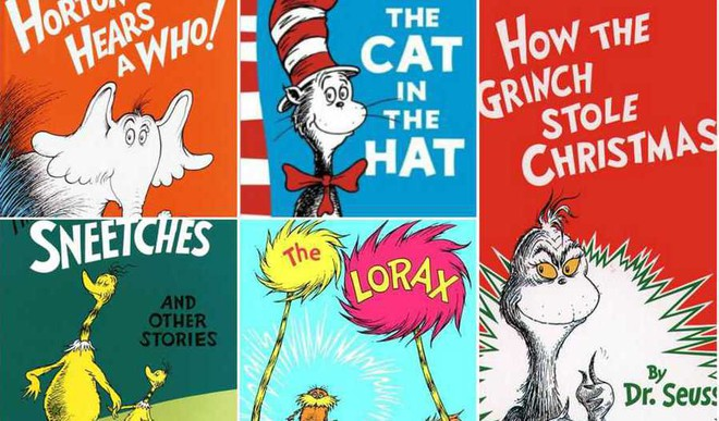 5 Classic Dr Seuss Books