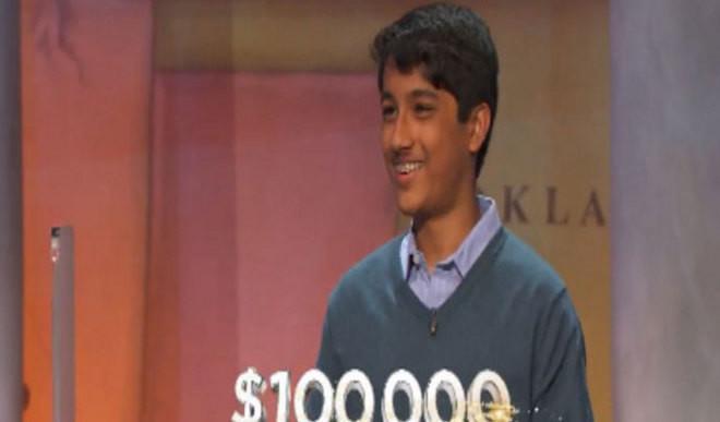 Teen Wins $100,000 Jeopardy