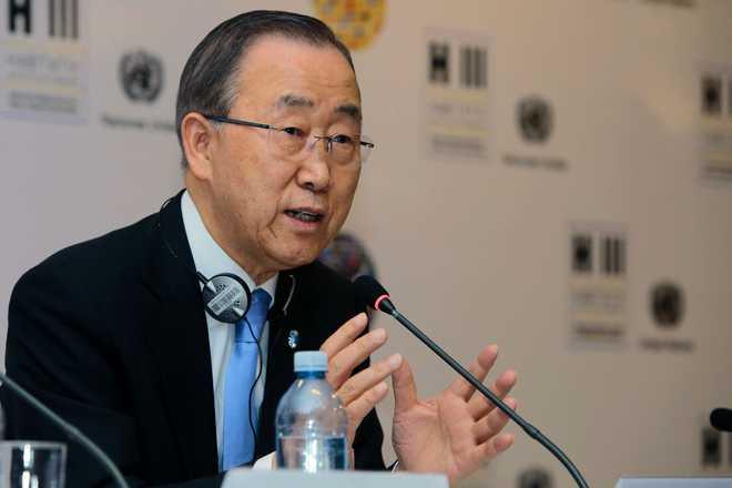 UN Chief Ban Honoured By Elton John AIDS Foundation