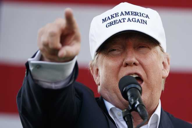 Clinton Can't Be Trusted With US Security: Trump