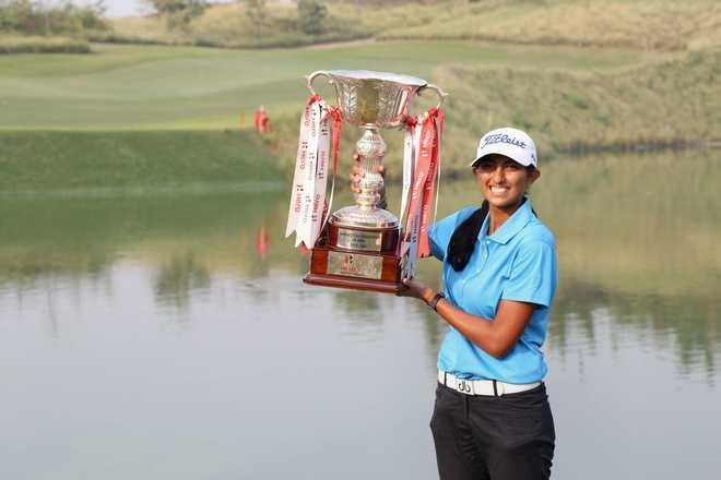 Historic Triumph For Golfer Aditi At Women's Indian Open