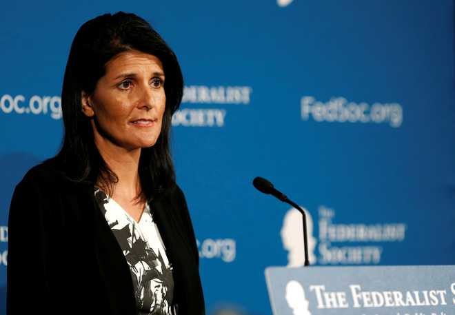 Haley Leads Trump's Pick For US Ambassador To UN: Report