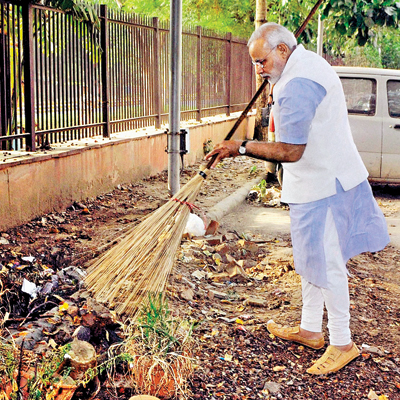 Eshan Sharma: Clean India Is Also About A Clean Character