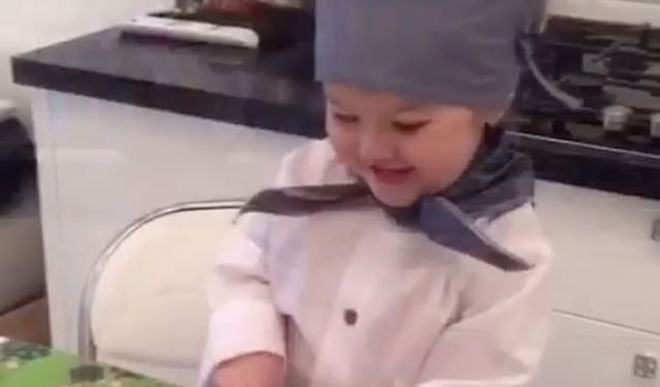 3-Year-Old Chef