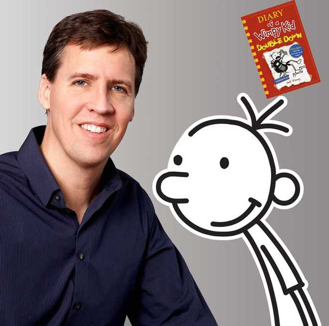 Author Jeff Kinney Will Answer Your Queries