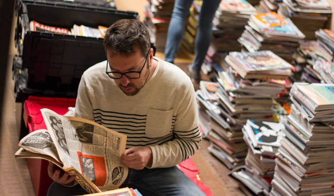 Meet The Man With The Largest Collection of Magazines