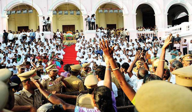 Nation Bids Adieu To Amma
