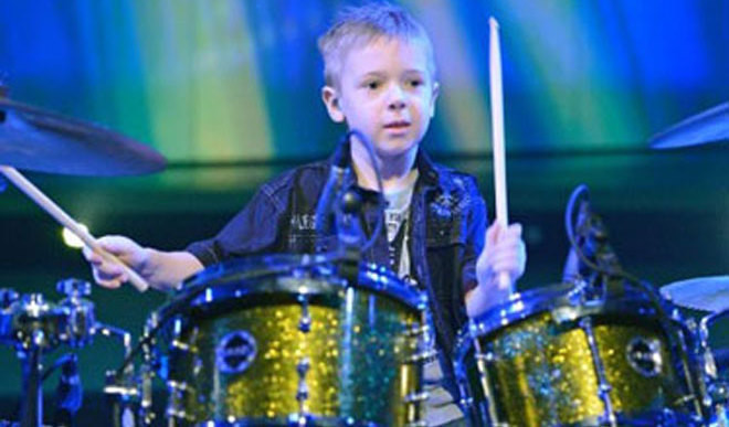 Meet The Young Drummer