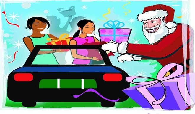 How Santa Delivers Presents