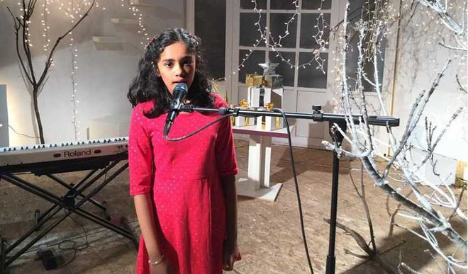 Meet The 10-YO Multi-Lingual Singer