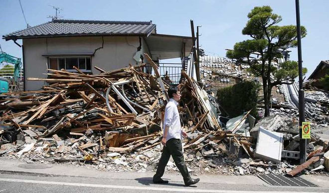 Over 6,500 Quakes Rocked Japan in '16