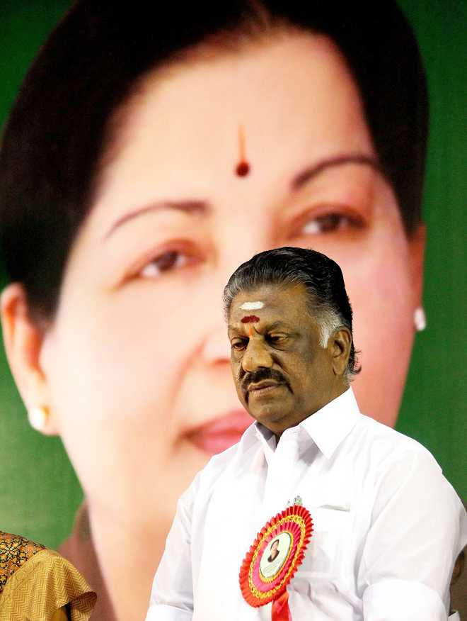 The New Tamil Nadu CM's Challenge: Being His Own Man