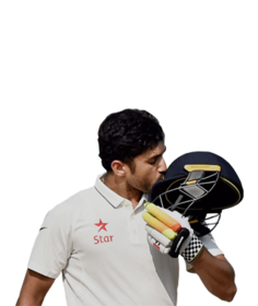 Nair 2nd Indian Batsmen To Score Triple Ton In Test