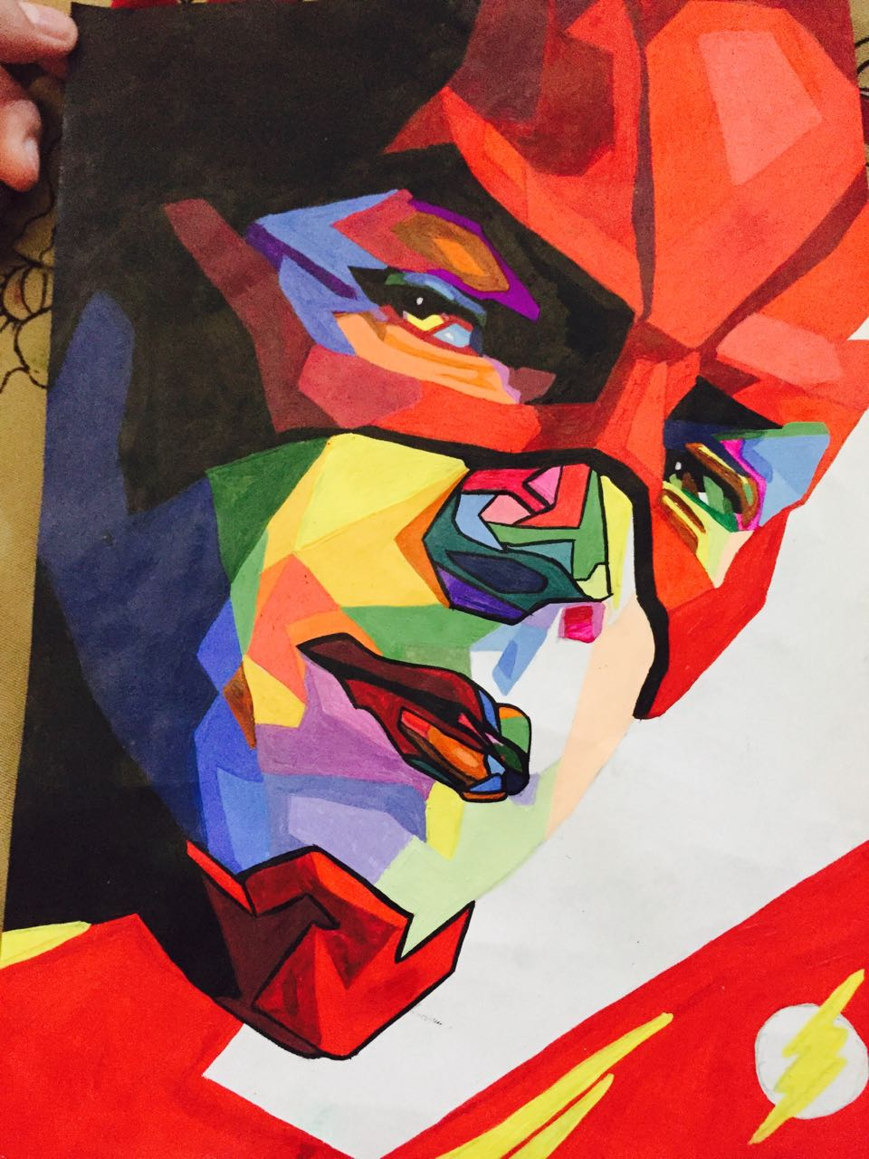 Abhinit Poddar's Pop Art Of Barry Allen