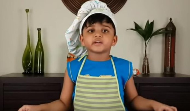 Meet The Little Chef Kicha, The Next YouTube Sensation From India