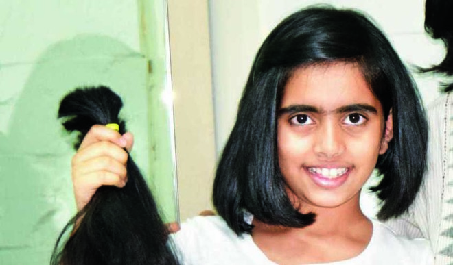 This 10-year-old Donated Her Hair For Cancer Care