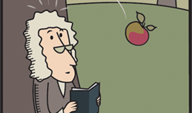 Was Newton Really Hit On The Head With An Apple?