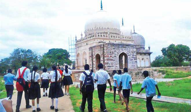 Qutb Shahi Tombs: A Walk Down The Lanes Of History