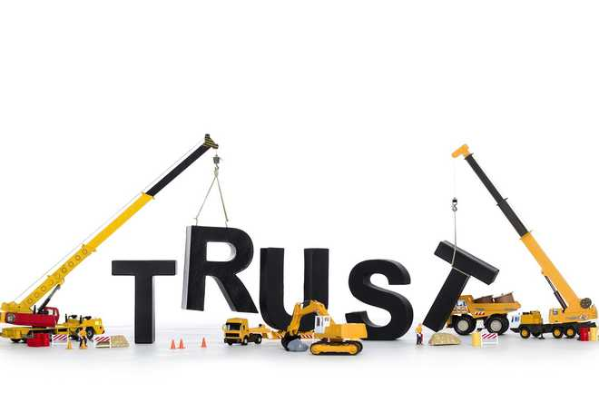 By Building Trust You Overcome Doubt