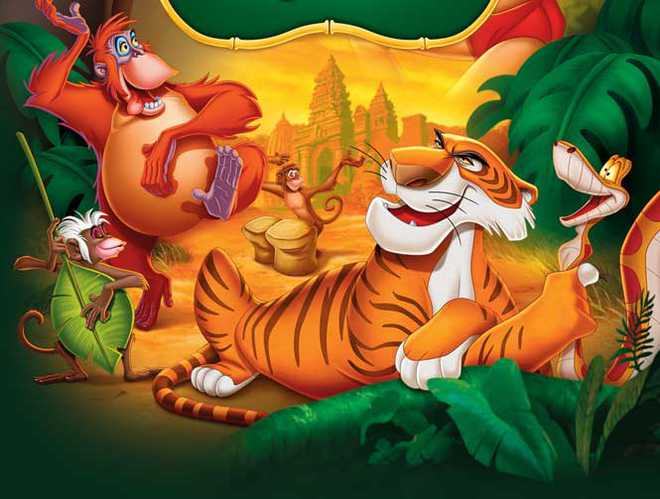 The Evergreen Jungle Book