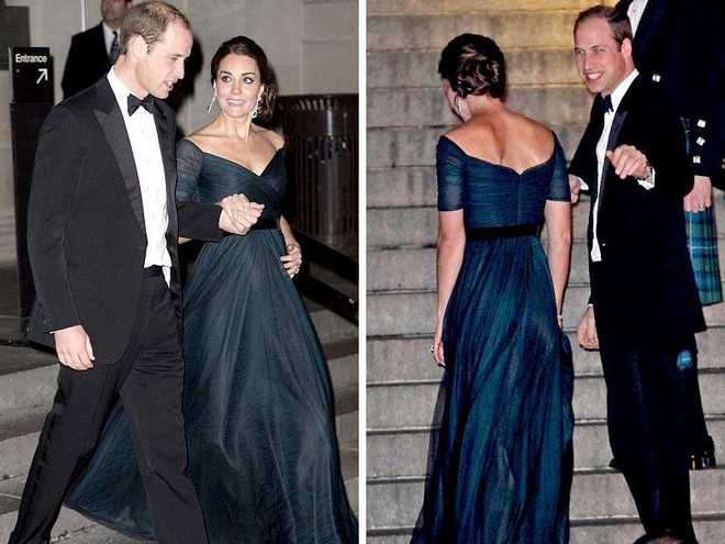 Kate Middleton Wears Same Gown For A Third Time