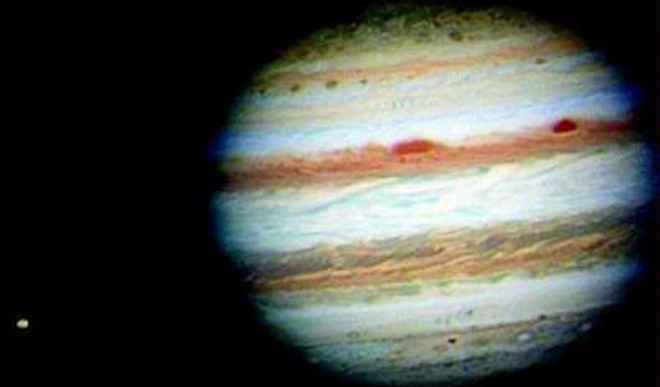 Radio Map Unveils Ammonia Gas In Jupiter's Atmosphere
