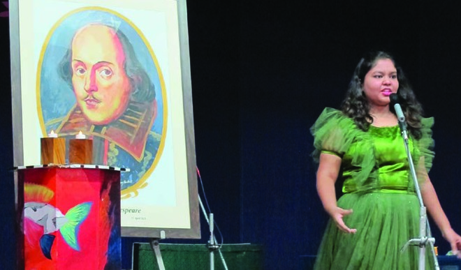 A moving tribute to Shakespeare by CPS-KR students