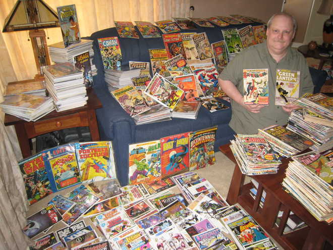 He Has World's Largest Comics' Collection