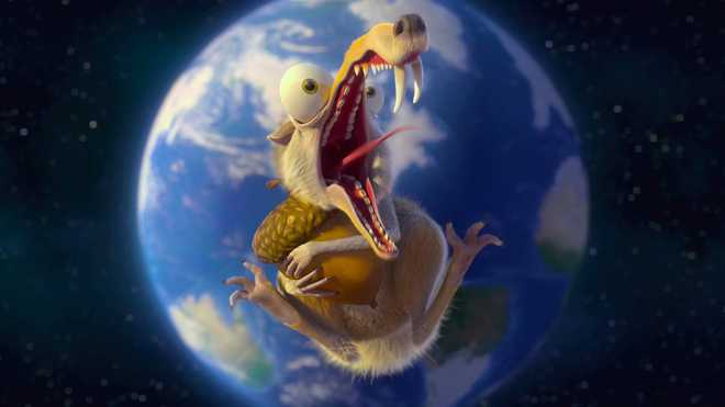 Scrat-Packed Ice Age Once Again