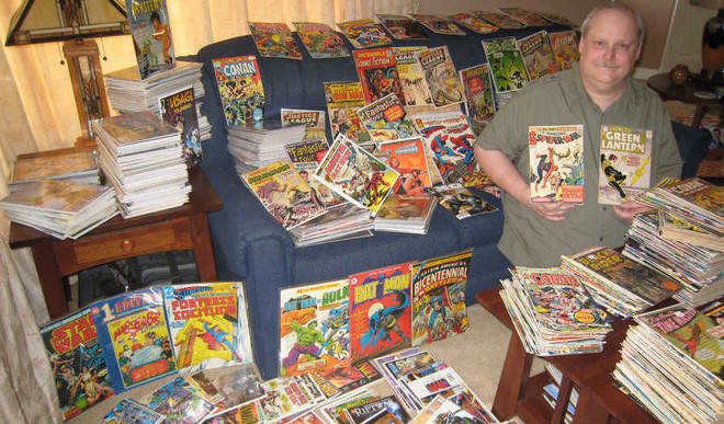 Bob Has 101,822 Comic Books