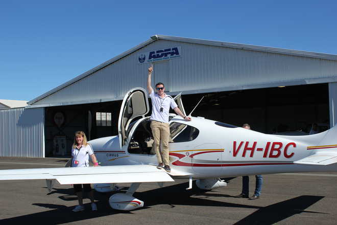 18-Year-Old Pilot Hopes To Inspire Youth
