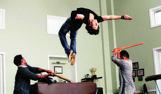 Tiger Shroff Tells Us What It Takes To Perform A Back Flip