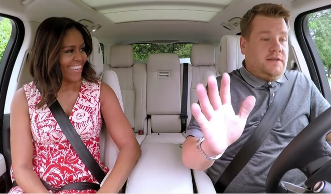 First Lady's First Carpool Karaoke